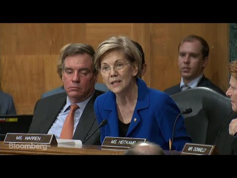 Sen. Warren Says Equifax Might Benefit From Data Breach