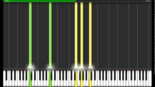 How to Play Bach - Prelude and Fugue in C major BWV 846 Synthesia Piano