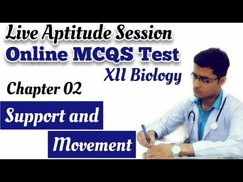 Live Online MCQs Test Of XII Biology Chapter 2 and 3