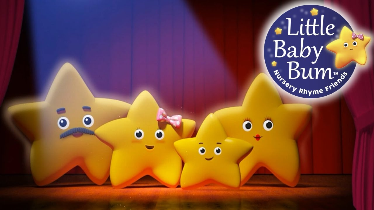 Twinkle Twinkle Little Star Loop Nursery Rhymes