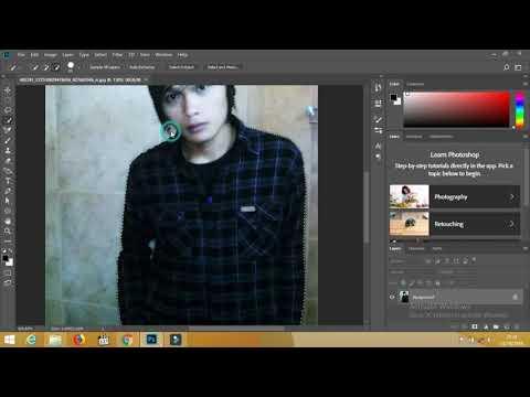 2 Cara Mengganti Background Foto