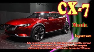 2019 Mazda CX-7 | new Mazda CX-7 2019 | 2019 Mazda CX-7 Concept | 2019 Mazda CX-7 Review