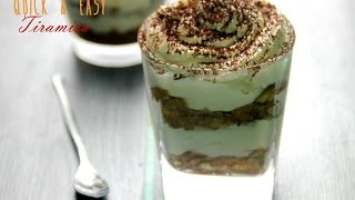 Quick and Easy Tiramisu Trifle