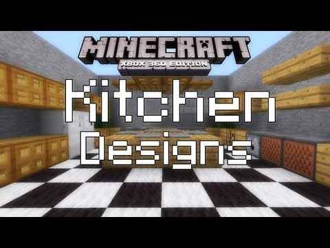 Minecraft interior design kitchen edition doovi for Interior design xbox game