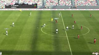 PES 2013 | PC Demo Gameplay - Portugal vs Germany - Full match