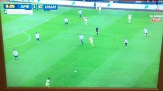 Gol America Vs Pumas 1-0