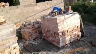 видео строительство из керамзитобетонных блоков