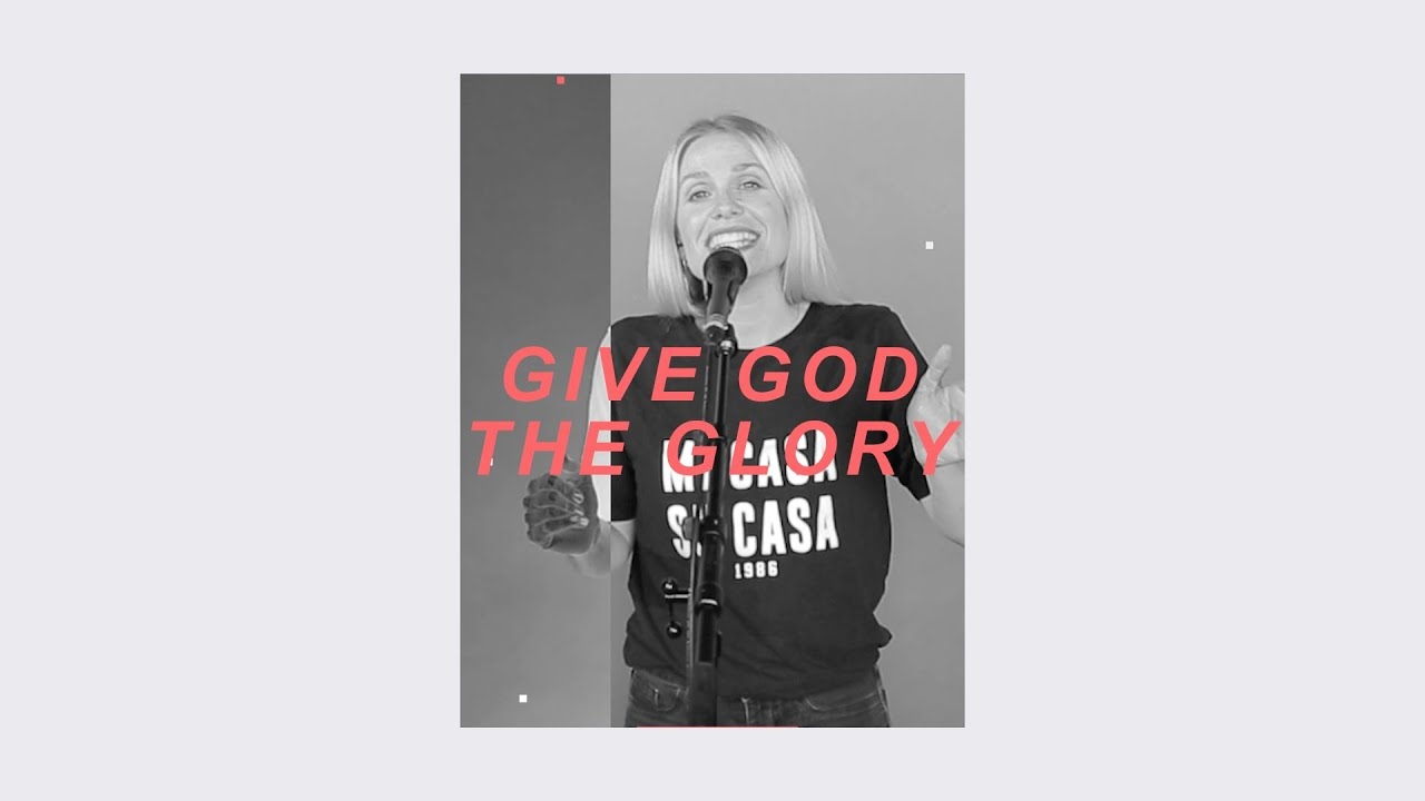Give God The Glory (Live) - Anna Brading Cover Image