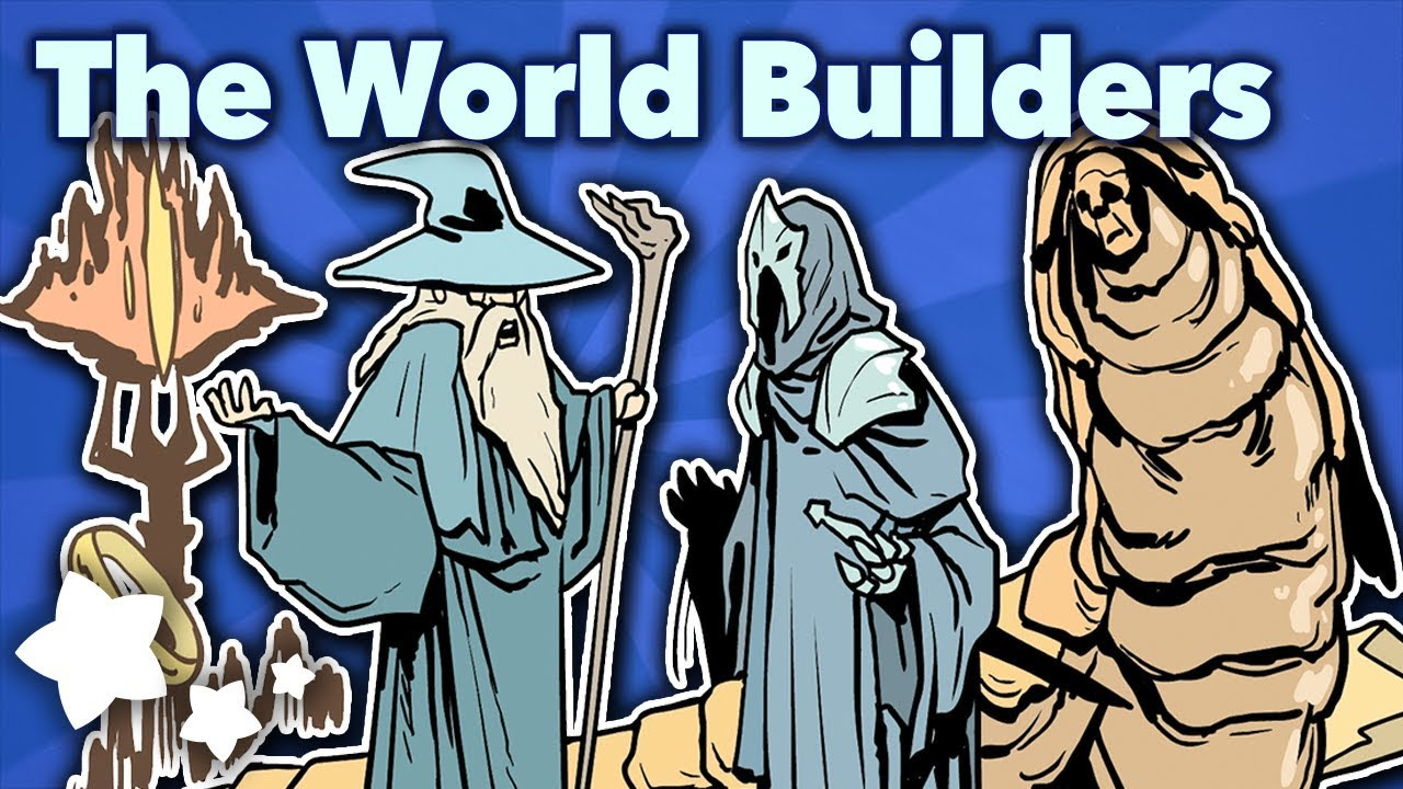 Tolkien and Herbert - The World Builders - Extra Sci Fi