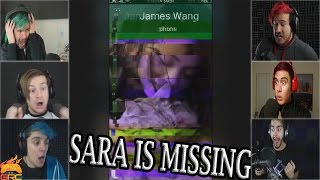 Gamers Reactions to James Wang Calling | Sara is Missing