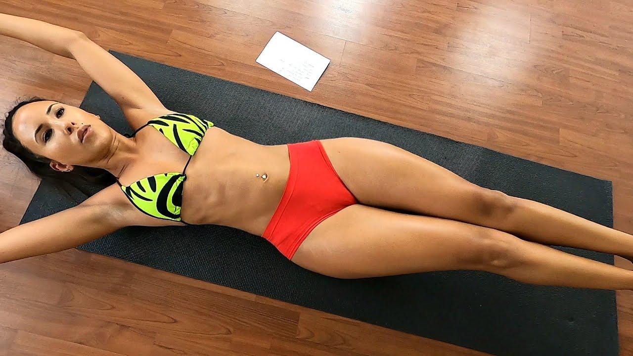 Womens Six Pack Abs Bikini Workout! Try it! - YouTube