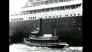 Титаник 1912 год  Уникальные документальные кадры