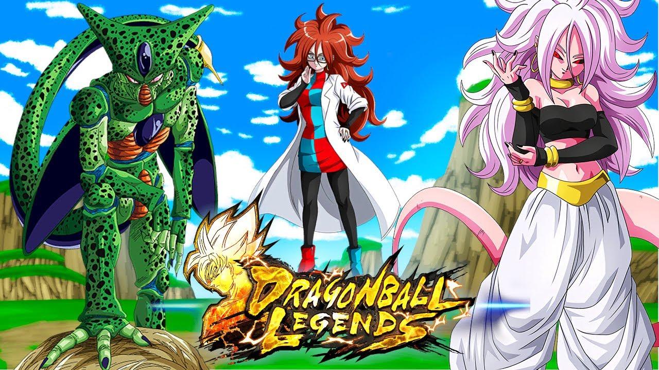First Form Cell Ki Destroyer Team Dragonball Legends Youtube