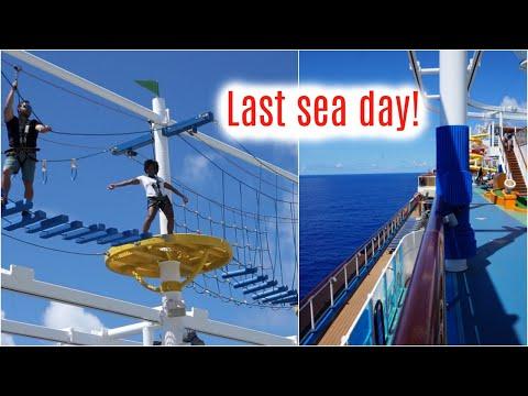 LAST DAY AT SEA, DISEMBARKATION, & RECAP   Carnival Vista Vlog thumbnail