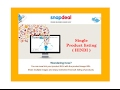 Product listing on snapdeal in easy way ( Hindi )
