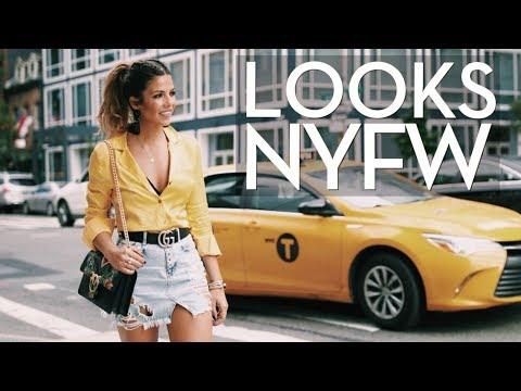 MIS LOOKS DE NYFW | 7 LOOKS EN 7 MINUTOS! | Trendy Taste