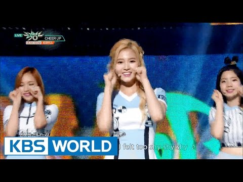 TWICE (트와이스) - Cheer Up [Music Bank HOT Stage / 2016.05.13]