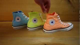 Neon Converse All Star High Tops