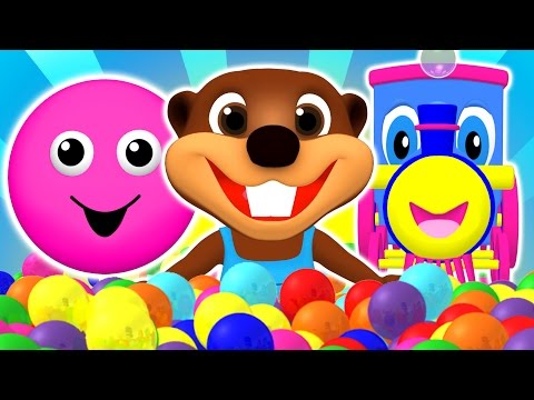 "Thumbnail: ""Baby Pop"" Learn Colors, Shapes, ABCs Alphabet & Nursery Rhymes 