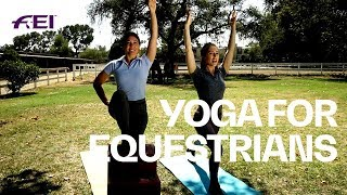 Fitness with Equestrians - Yoga exercises with Ali & Mari | Health & Fitness
