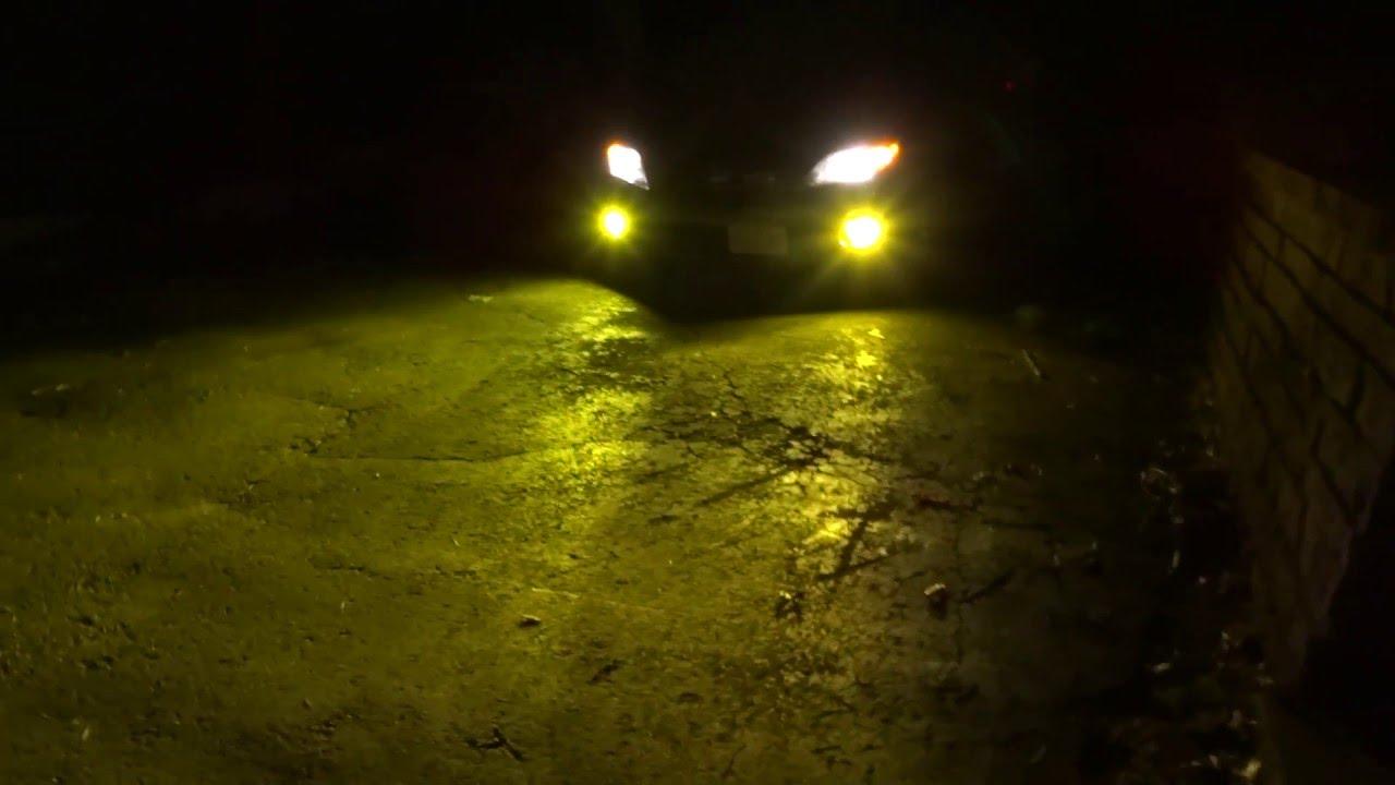 Kensun 3000k Hid Light Kit  Yellow Fog Lights