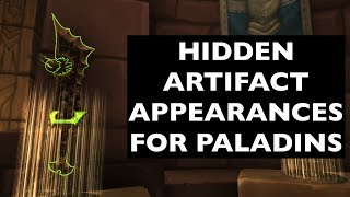 Hidden Artifact Appearances for Paladins (Hidden Potential) | WoW Guide