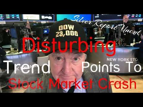 Dow 23,000! Disturbing Trend Points to Major Stock Market Crash