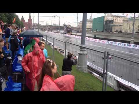Формула 1 Москва  2013 авария