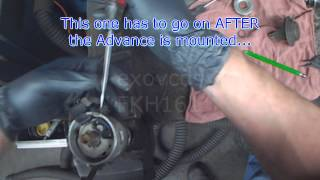VW A2: Distributor Hall Sensor Replacement (Vacuum Advance Style)