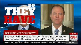 "CA Rep. Adam Schiff ""More Russia Lies about Fake Russia Ties."