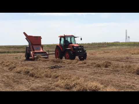 Master of farming nohut hasat makinası