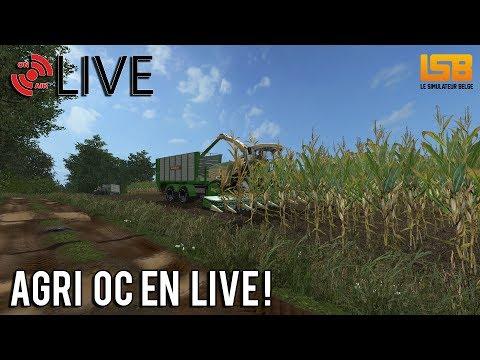 [LIVE] FS17 | On est à plusieur fermes sur AGRI OC!