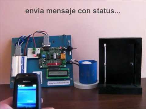 Sensor de alarma de puerta abierta mensaje de alerta por for Puertas kiuso telefono