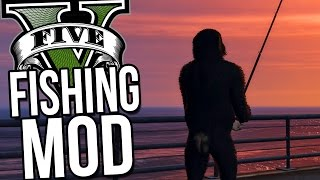 GTA 5 PC Mods - ABSOLUTE HILARITY! -  Fishing Mod, Fun Vehicles - GTA 5 Funny Moments