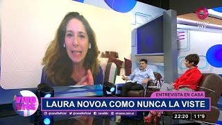 Entrevista en casa: La cuarentena de Laura Novoa