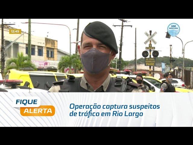 Rio Largo: Operação prende homem e apreende menor suspeitos de tráfico de drogas