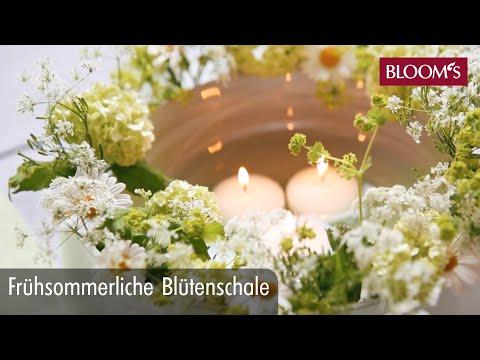 sommerliche-blütenschale-|-diy-sommerdeko-|-summer-decoration-|-bloom's-floristik