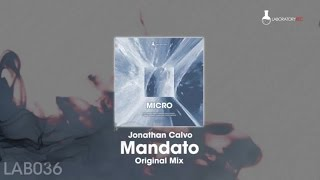 Jonathan Calvo - Mandato - Original Mix