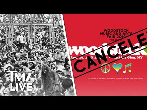 Woodstock 50 Cancelled?! | TMZ Live Mp3
