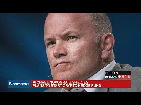 Michael Novogratz Shelves Crypto Hedge Fund Plans
