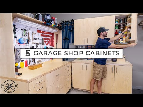 5 Garage Shop Cabinets For Ultimate DIY Storage