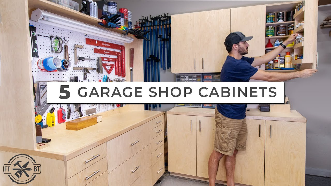 5 Garage Cabinets For Ultimate Diy Storage You