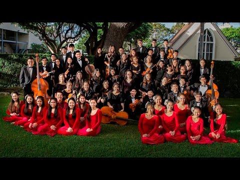 'Iolani School Orchestra and Halau * December 8, 2015