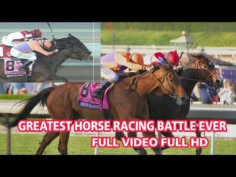 GREATEST HORSE RACING BATTLE EVER