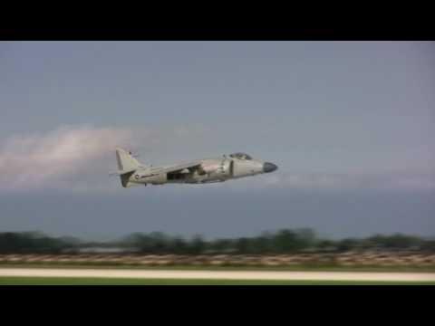 Airventure 2010: Art Nalls Sea Harrier