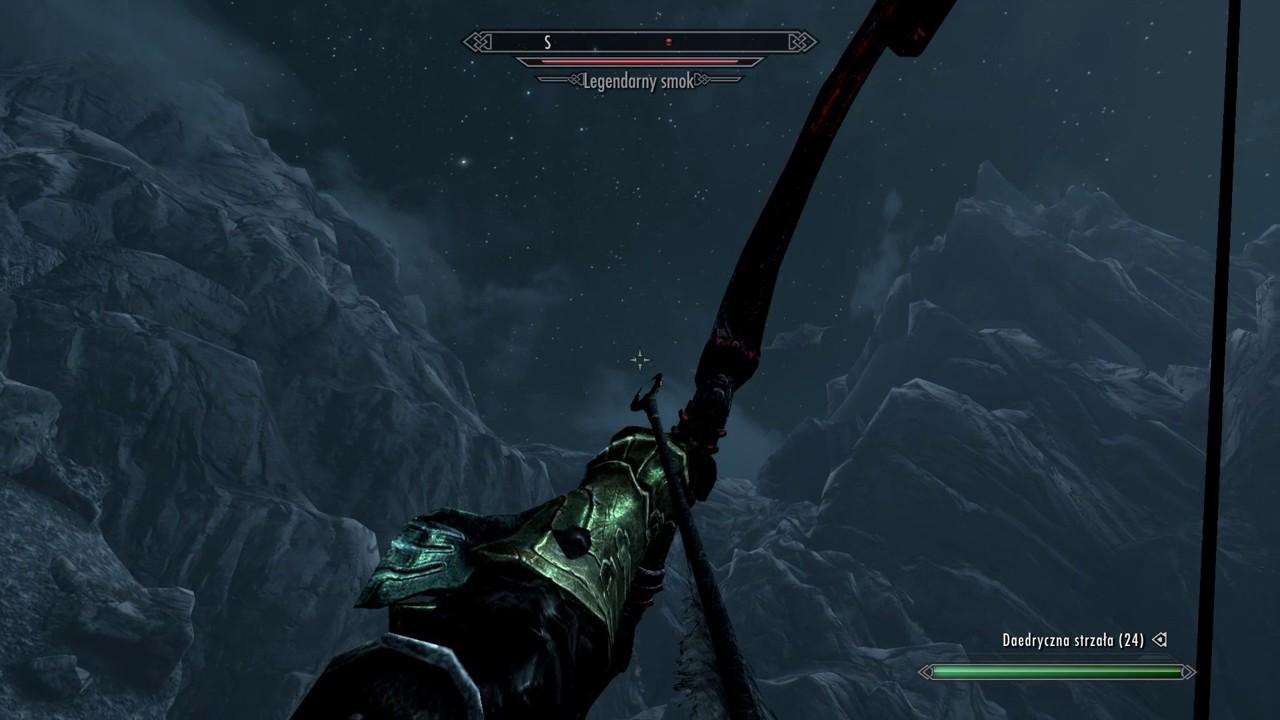 Skyrim - Legendarny Smok -------- Legendary Dragon ...