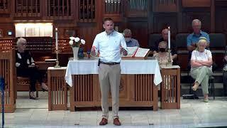 """Sermon 8.1.21 """"Bread of Life"""""""