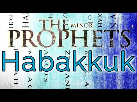 The Book of Habakkuk - Eddie Parrish