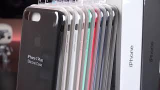 جراب أيفون سيليكون Silicone case for iphone