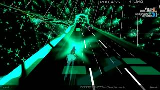 Geometry Dash 2.0 SONG - F-777 DEAD LOCKED (Audiosurf 2) 1080p 60FPS